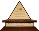 Best Prax Benchmark trophy for Leadership Governance, 2013