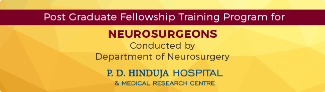 Fellowship program for young Neurosurgeons