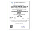 NABL - Certificate of Accreditation
