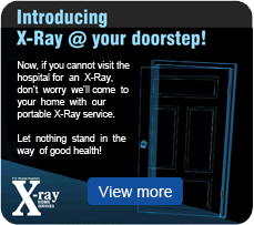 X-Ray @ your doorstep