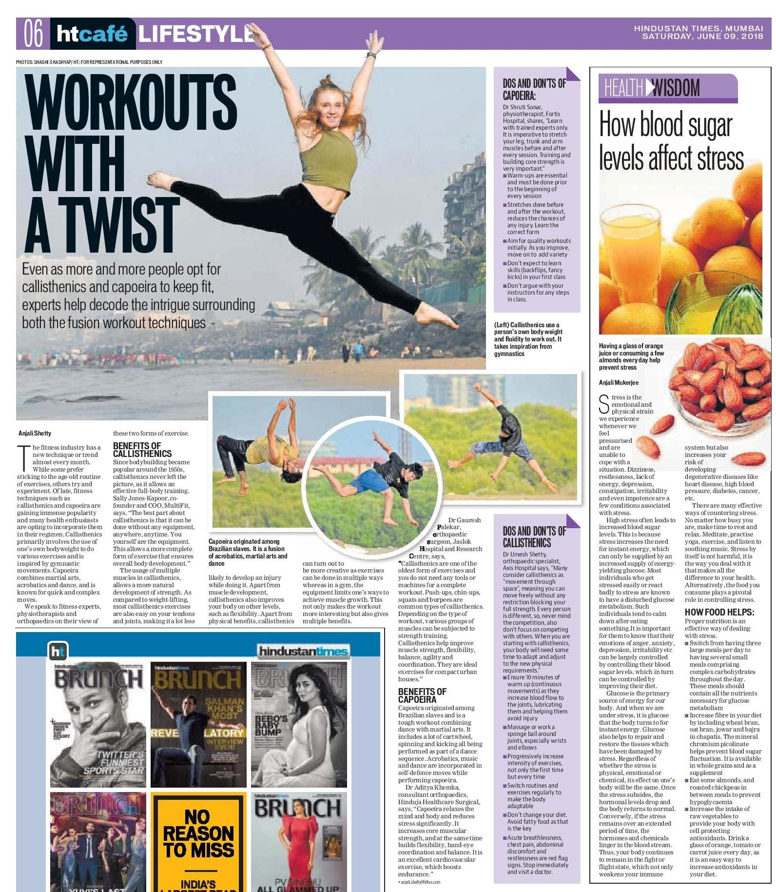 Workouts with a twist - Hinduja Healthcare