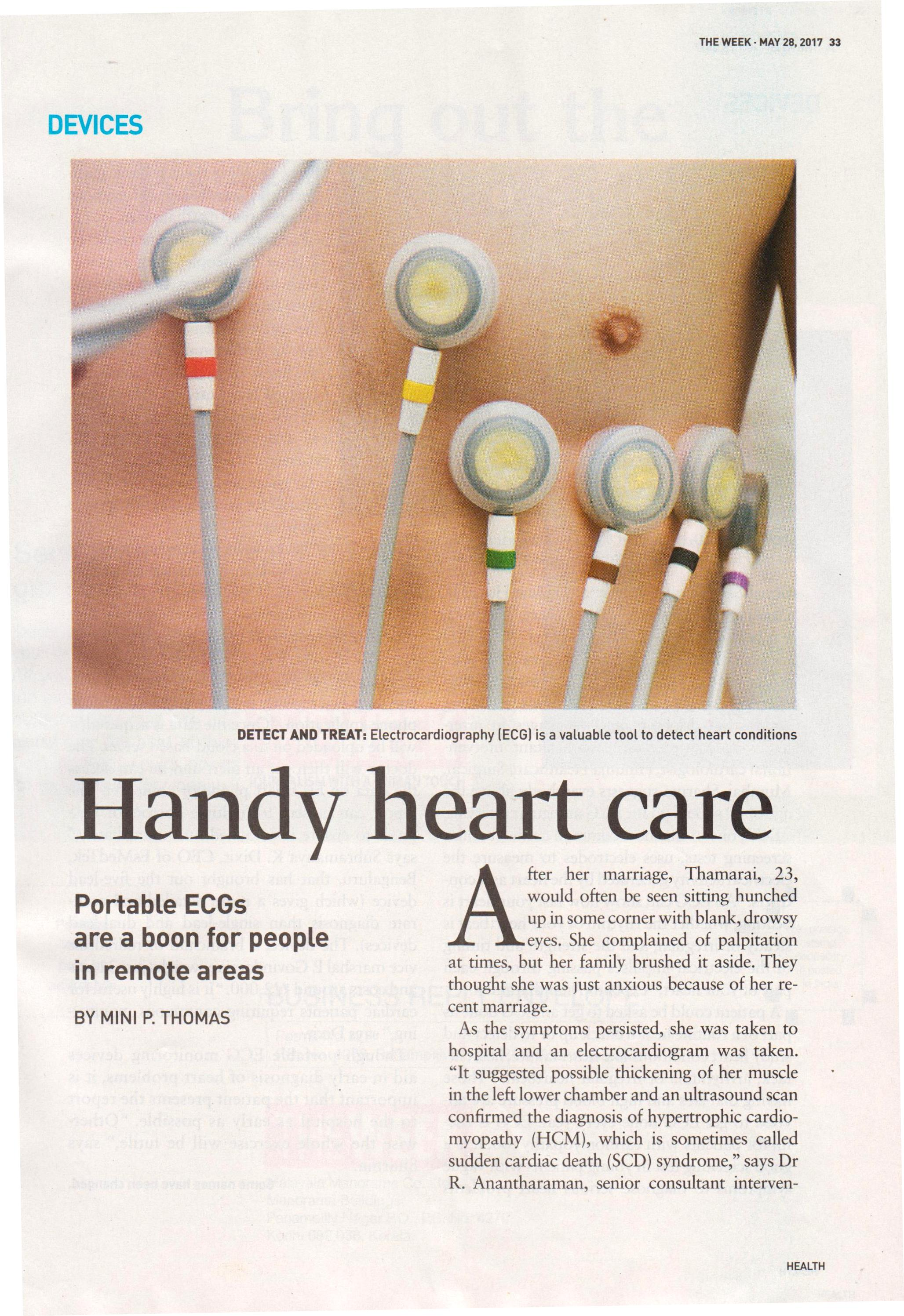 Handy heart care  - Hinduja Healthcare