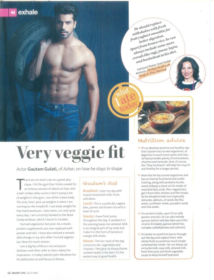 Hinduja HealthCare - The Diet Celebrity Article