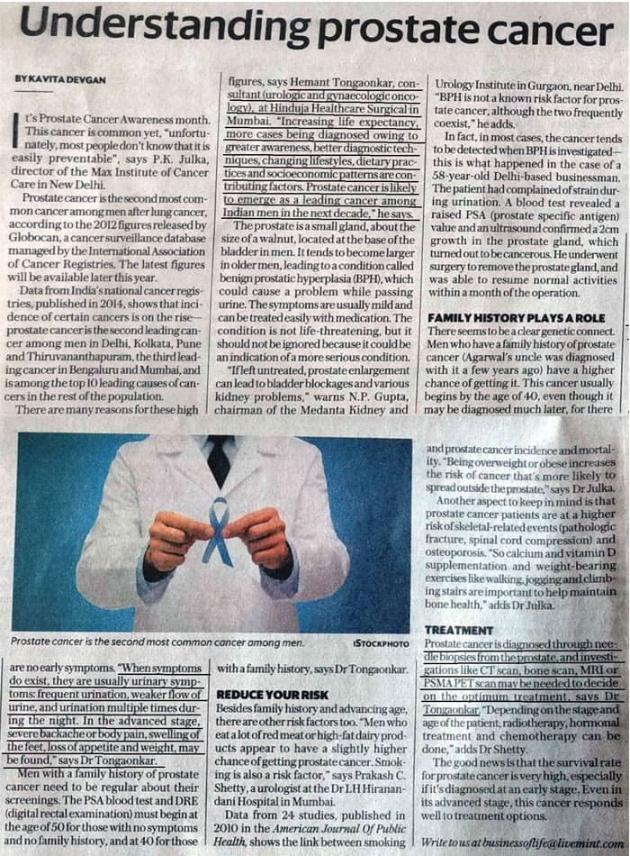 Hinduja HealthCare - Cancer Article