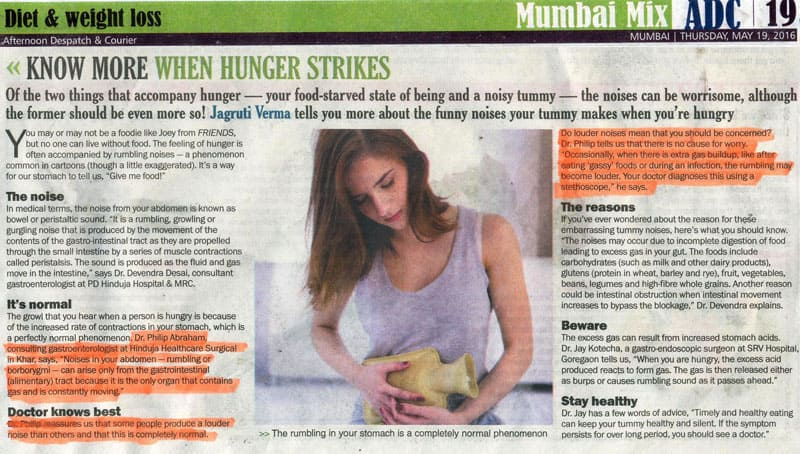 Hinduja HealthCare - Weight loss diet Article