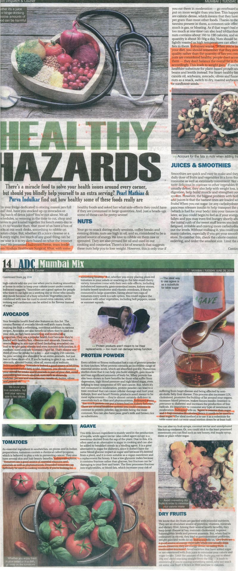 Hinduja HealthCare - Healthy Hazards