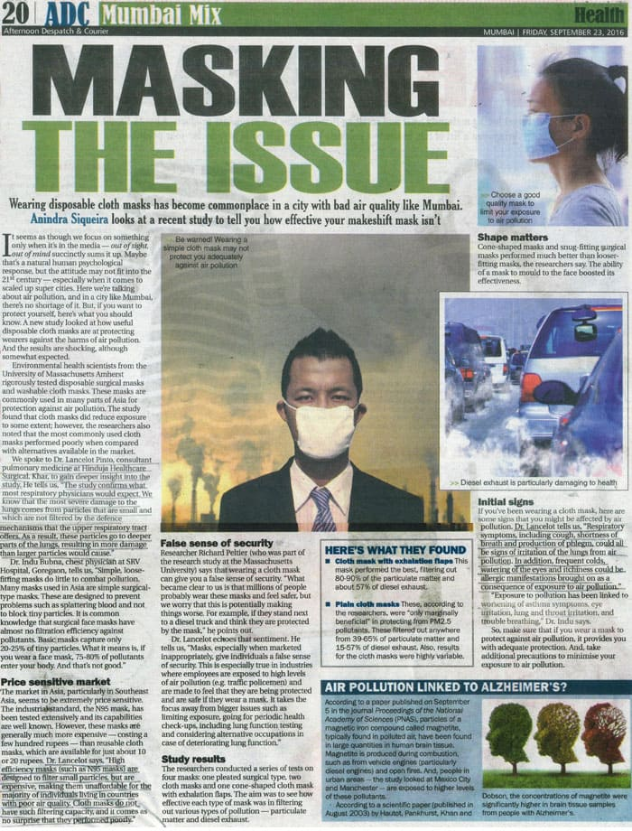 Hinduja HealthCare - Masking Article1