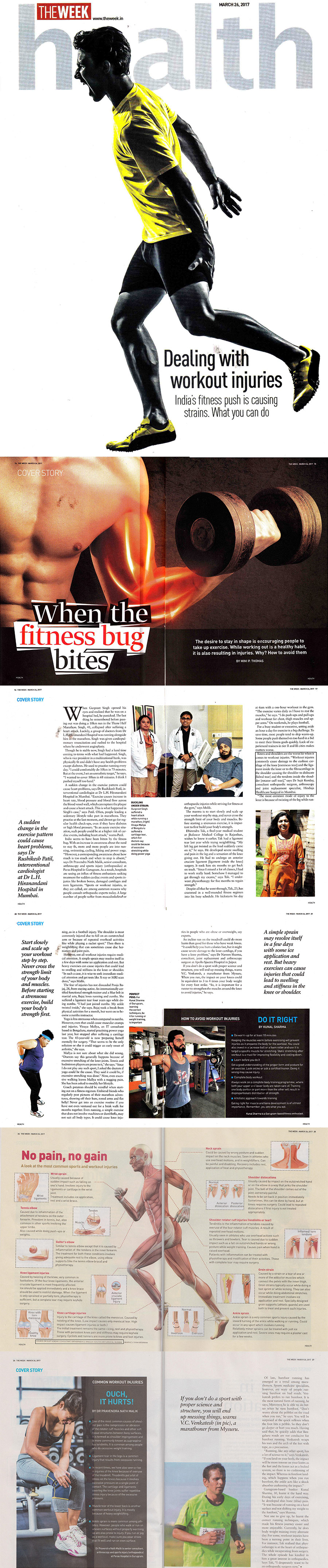 Dealing with workout injuries  - Hinduja Healthcare